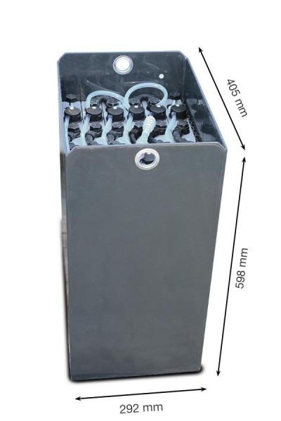 Q-Batteries 24V Gabelstaplerbatterie 2 PzS 160 Ah (405 x 292 x 598mm L/B/H) Trog 57074062 inkl. Aqua