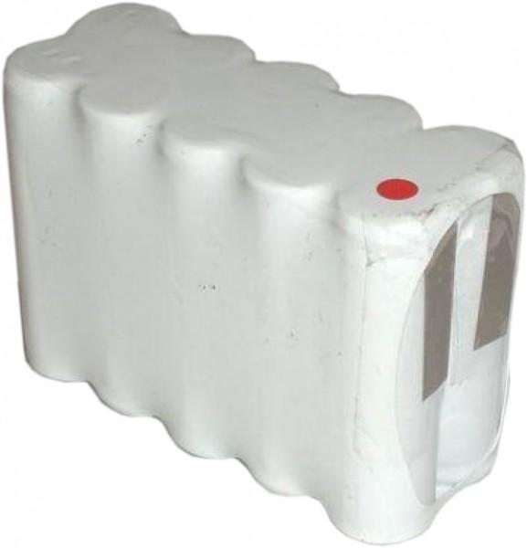 Akku Pack 12V 800mAh für Notbeleuchtung D-Reihe NiCd F5x2 10xAA Hochtemperaturzellen Lötfahnen