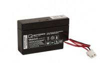 Q-Batteries 12LS-0.8 12V 0,8Ah AGM Akku mit AMP-Stecker