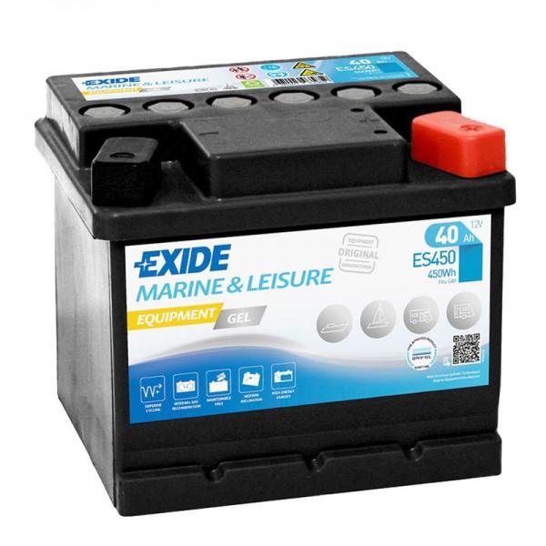 Exide ES450 Equipment Gel 12V 40Ah G40 Versorgungsbatterie