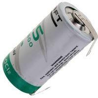 Saft LS 14250 1/2AA Lithium-Thionylchlorid Batterie 3,6V mit Lötfähne UN3090 - SV188