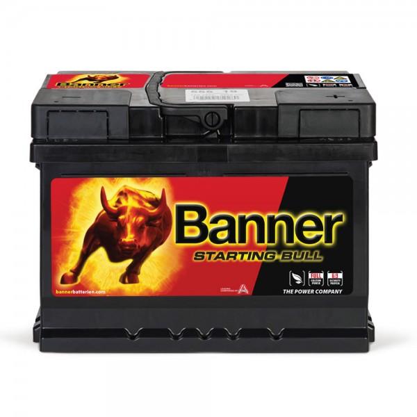 Banner 55519 Starting Bull 12V 55Ah 450A Autobatterie