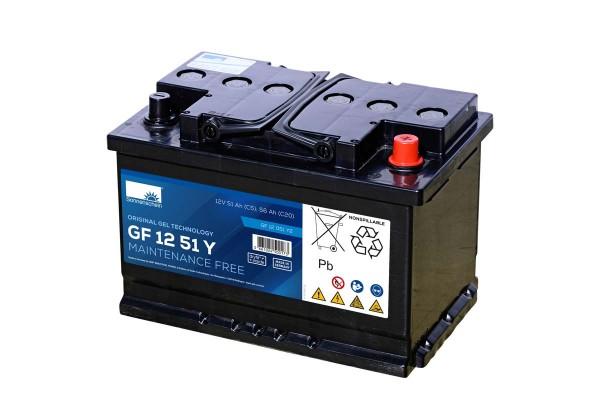 Exide Sonnenschein GF 12 051 Y 2 dryfit Blei Gel Antriebsbatterie 12V 56Ah (5h) VRLA