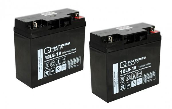 Ersatzakku für APC Smart-UPS DLA1500I RBC7 RBC 7 / Markenakku mit VdS