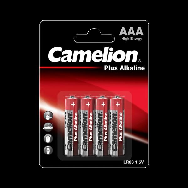 Camelion PLUS LR03 Micro AAA Alkaline Batterie (4er Blister)