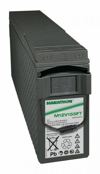 Exide Marathon M12V155FT 12V 150Ah UL94-V0 Frontterminal AGM Blei-Vlies Akku VRLA