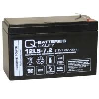 Ersatzakku für ABUS Terxon MX Hybridalarmzentrale AGM Batterie 12V 7,2Ah mit VdS
