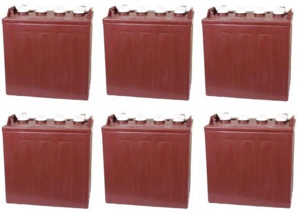 Ersatzakku Set Trojan Batterien für Club Car Transport Villager 8