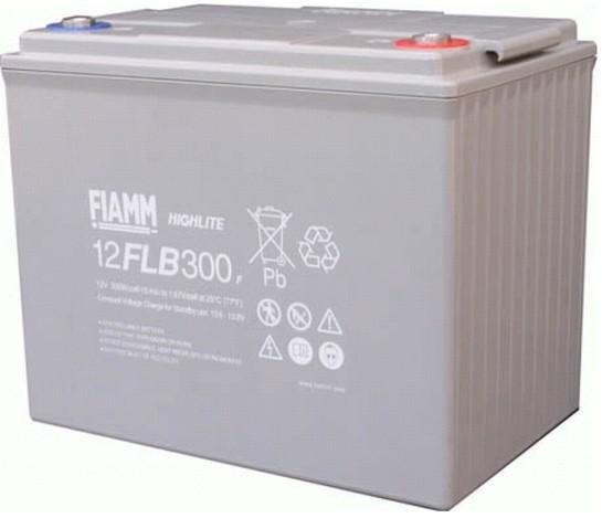 Fiamm HighLite 12FLB300P 12V 75Ah AGM Blei-Vlies 10-12 Jahres-Batterie