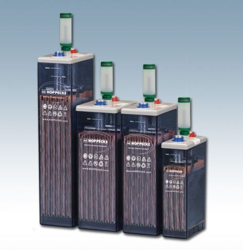Hoppecke 5 OPzS sun power/ solar.power 520 2V 520Ah (C10) geschlossene Bleibatterie