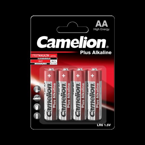 Camelion PLUS LR06 Mignon AA Alkaline Batterie (4er Blister)