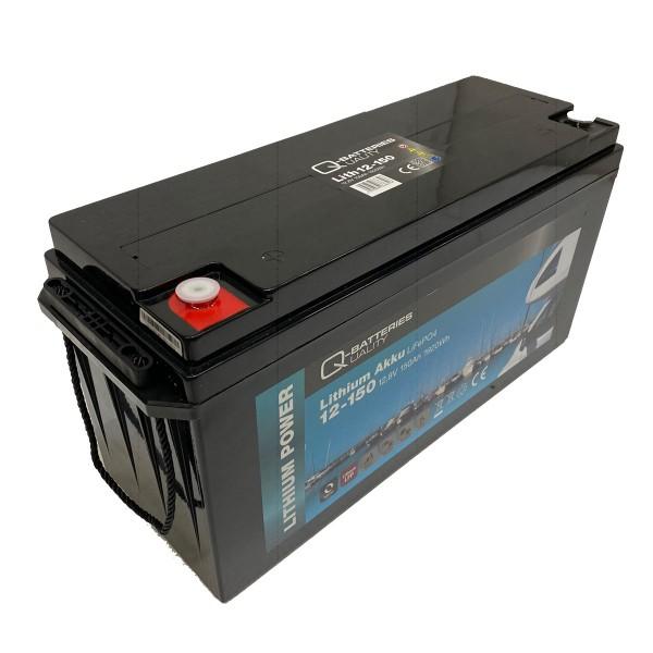 Q-Batteries Lithium Akku 12-150 12,8V 150Ah 1920Wh LiFePO4 Lithium-Eisenphosphat Gefahrgut nach UN34