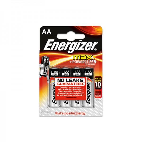 Energizer MAX LR06 Mignon AA Alkaline Batterie (4er Blister)