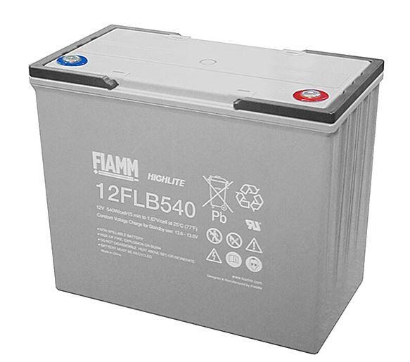 Fiamm HighLite 12FLB540P 12V 150Ah AGM Blei-Vlies 10-12 Jahres-Batterie