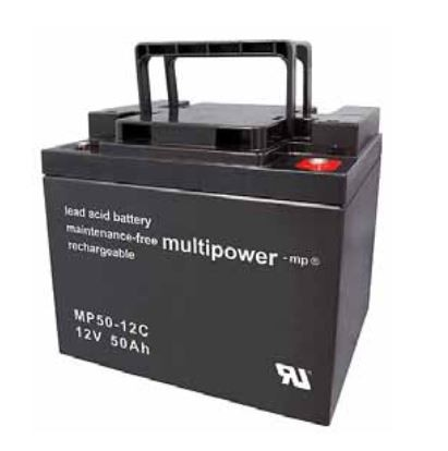Multipower MP50-12C / 12V 50Ah Blei Akku Zyklentyp