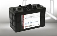 Q-Batteries 12TTB-115 12V 115Ah (C20) geschlossene Blockbatterie, positive Röhrchenplatte