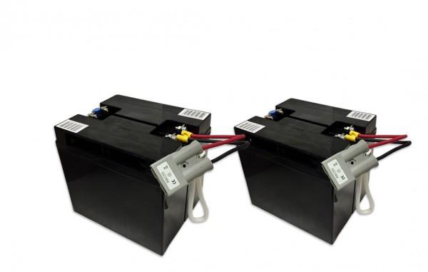 Ersatzakku für APC-Back-UPS RBC55 - fertiges Batterie-Modul zum Austausch Der Batterie-Satz besteht