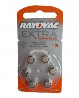 Rayovac Extra Advanced 13 PR48 Hörgeräte Batterie (6er Blister)