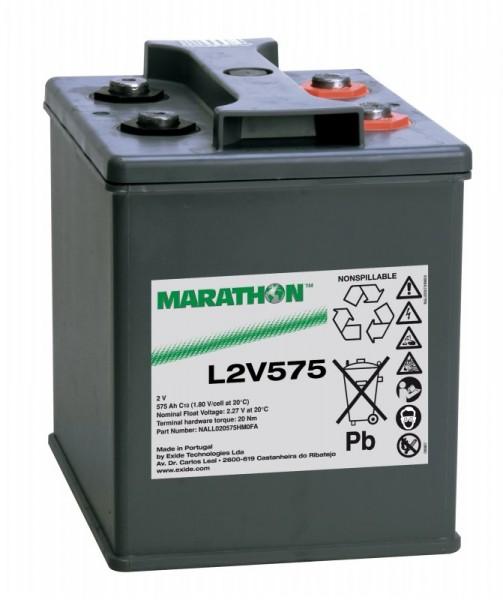 Exide Marathon L2V575 2V 575Ah AGM Blei Akku VRLA
