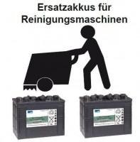 Ersatzakku für Nilfisk SR 1300 Eco Reinigungsmaschine Teile Nr. 80564400