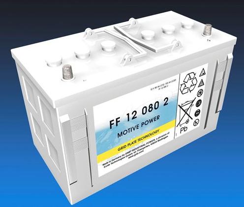 Exide Classic FF 12 080 2 Antriebsbatterie 12 Volt 80 Ah (5h) drivemobil Traktionsbatterie