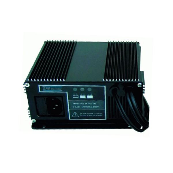 Q-Batteries energiesparendes Hochfrequenzladegerät 24V 2,5A für AGM by S.P.E. Charger CBHD1