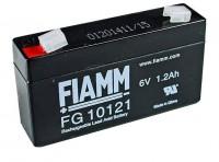 Fiamm FG10121 6 V 1,2Ah Blei Akku / Blei Akku / AGM Blei Vlies