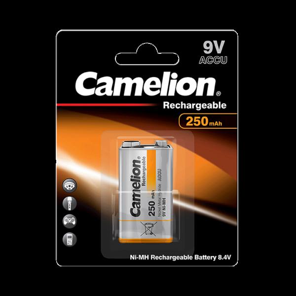 Camelion Akku 9V Block 250mAh NiMH (1er Blister)