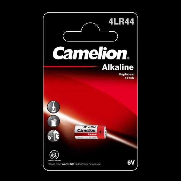 Camelion 4LR44 Alkali-Mangan Batterie (1er Blister)