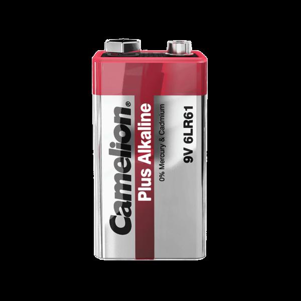 Camelion PLUS 6LR61 6LF22 9V Block Alkaline Batterie (lose)