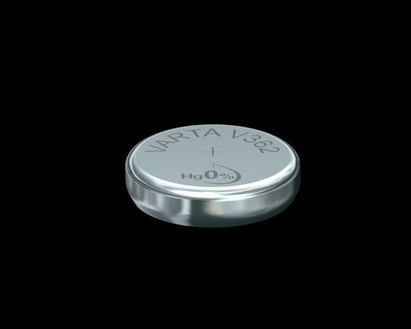 Varta Watch V362 SR58 1,55 V Uhrenbatterie 21mAh (1er Blister)