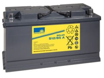 Exide Sonnenschein Solar S12/85 A Blei-Gel Batterie 12V 85Ah