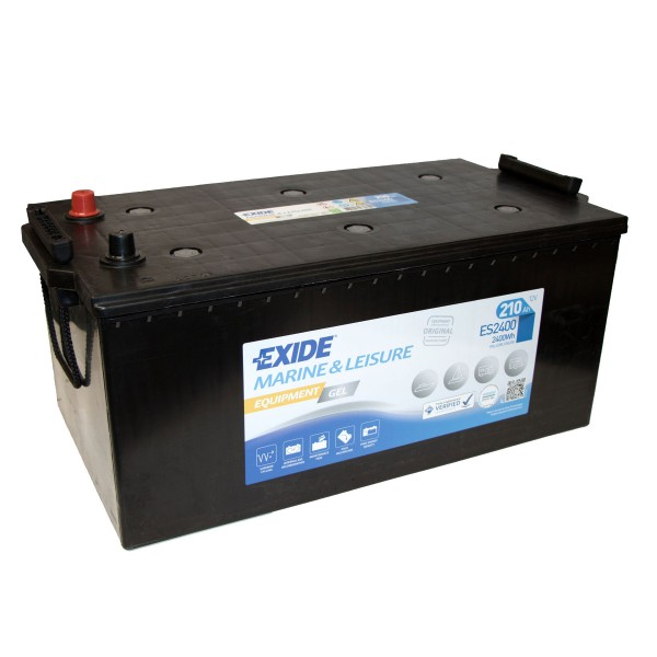 Exide ES2400 Equipment Gel 12V 210Ah G210 Versorgungsbatterie