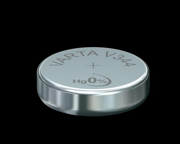 Varta Watch V344 SR42 1,55 V Uhrenbatterie 100mAh (1er Blister)