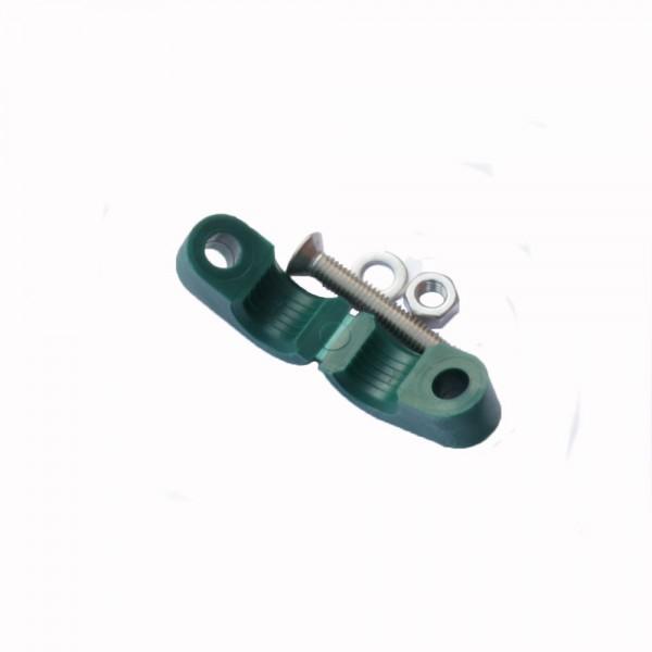 Zugentlastung für Endableiter 50mm² inkl. Schraube, Scheibe, Muttern