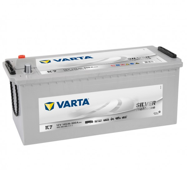 VARTA K7 ProMotive Super Heavy Duty 12V 145Ah 800A LKW Batterie 645 400 080