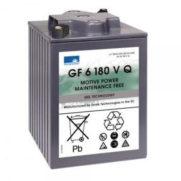 Exide Sonnenschein GF 06 180 V Q dryfit Blei Gel Antriebsbatterie 6V 180Ah (5h) VRLA