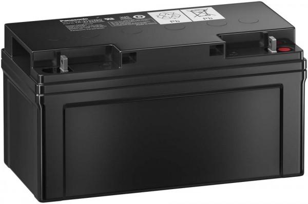 Panasonic LC-X1265PG 12V 65Ah Blei-Vlies Akku AGM mit VdS