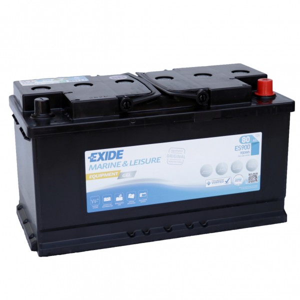 Exide ES900 Equipment Gel 12V 80Ah G80 Versorgungsbatterie