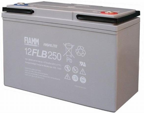 Fiamm HighLite 12FLB250P 12V 70Ah AGM Blei-Vlies 10-12 Jahres-Batterie