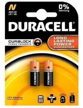 Duracell Lady LR1 Batterie N MN9100 1,5V (2er Blister)
