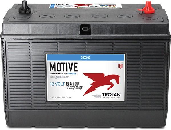 Trojan 31XHS 12V 130Ah Deep Cycle Traktionsbatterie Stud-Anschluss