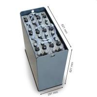 Q-Batteries 24V Gabelstaplerbatterie 3 PzS 345 Ah DIN B (621 x 281 x 627mm L/B/H) Trog 57014023 inkl