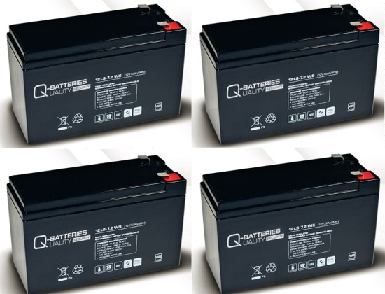 Ersatzakku für APC Smart-UPS XL SU1400RMXLI3U RBC25 RBC 25 / Markenakku mit VdS