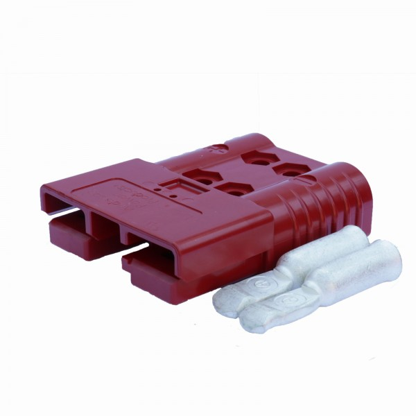 Anderson SBE/ Rema SRE Flachstecker 160A rot inkl. 2 Hauptkontakte, 24 V, 50mm² (oder ähnlich Ander