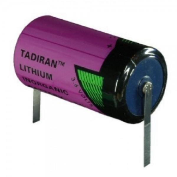 Tadiran SL-2770/T Lötband ER-C Industriezelle Lithium-Thionylchlorid 3,6V 8500mAh 50x26,2 (HxØ/mm) G