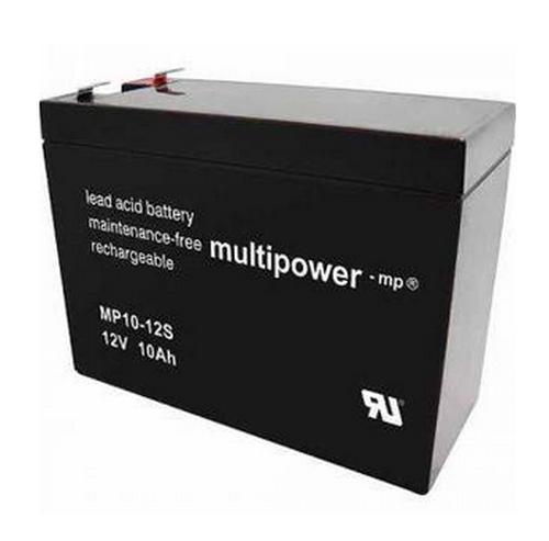 Multipower MP10-12S / 12V 10Ah Blei Akku AGM
