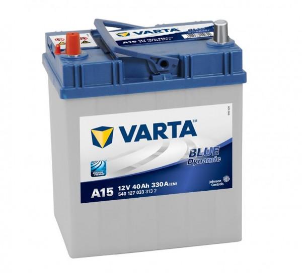 VARTA A15 Blue Dynamic 12V 40Ah 330A Autobatterie 540 127 033
