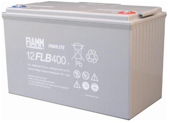 Fiamm HighLite 12FLB400P 12V 105Ah AGM Blei-Vlies 10-12 Jahres-Batterie