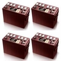 Ersatzakku Set Trojan Batterien für Club Car DS 48V ab 09/2005